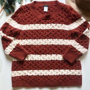 J. Crew striped merino wool sweater